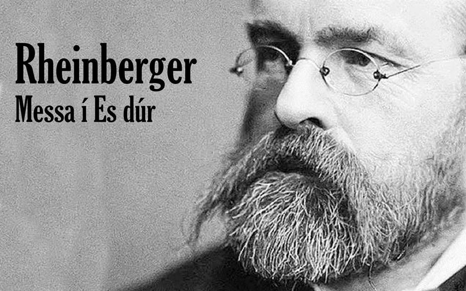 Rheinberger verður í góðum félagsskap 14. nóvember
